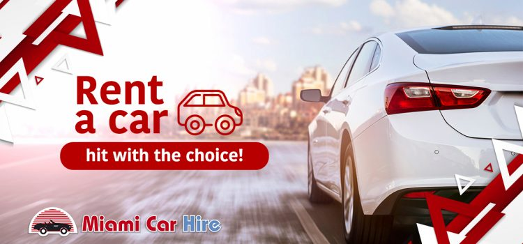 Rent a car, hit with the choice!