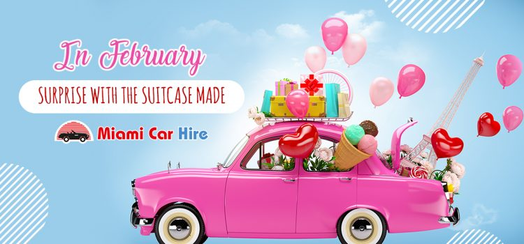 IN FEBRUARY, SURPRISE WITH THE SUITCASE MADE